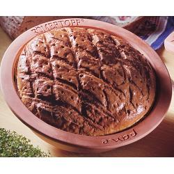 Romertopf Round Clay Bread Pan 1
