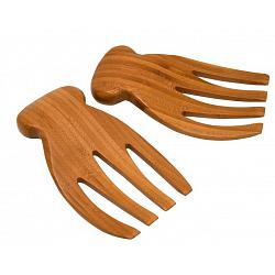 Natural Living Set of 2 Bear Claw Salad Servers 1