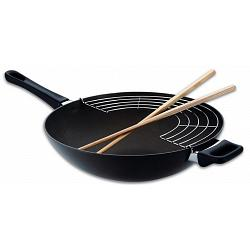 Scanpan Classic Wok with Racks & Sticks 1
