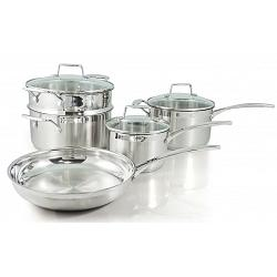Scanpan Impact Stainless Steel Cookware Set of 5 1