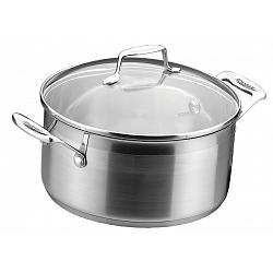 Scanpan Impact 3.2 L Stainless Steel Dutch Oven 1