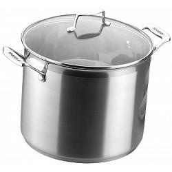 Scanpan Impact 7.2 L Stainless Steel Stock Pot 1