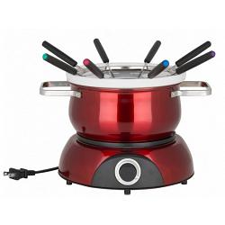 Trudeau Scarlet Red Electric 3-in-1 Fondue Set for 8 1