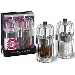 Cole & Mason Seville Salt & Pepper Mill Set 1