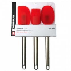 Silicone Kitchen Tool Set - 3pc by Swissmar 1