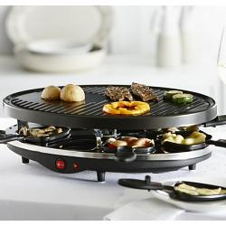 Trudeau Sizzly 8 Person Raclette Grill 1
