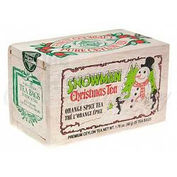 Metropolitan Tea Company Snowman Orange Spice Tea 1