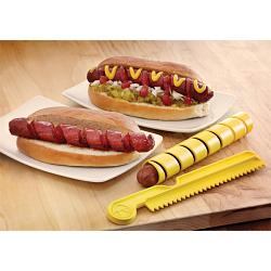 Outset Set of 2 Hot Dog & Wiener Spiral Cutters 1
