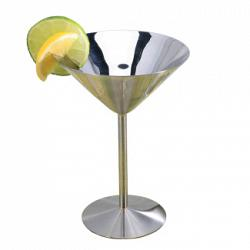 Stainless Steel Martini Glass by Danesco 1