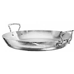Mauviel M\'elite 3.9L Stainless Steel Paella Pan 1