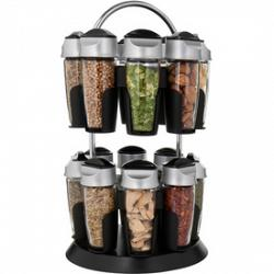 Tower Spice Carousel Rack by Trudeau 1