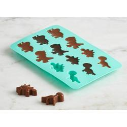 Trudeau Set of 2 Silicone Dinosaur Shaped Chocolate Molds 1