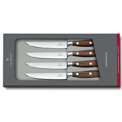 Victorinox Grand Maitre Rosewood Forged Steak Knife Set of 4 1