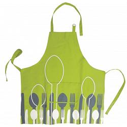 Ziczac Green Spoon Apron 1