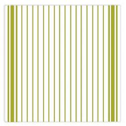 Ziczac Set of 3 Green Striped Dishcloths 1