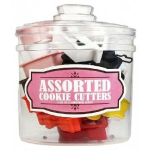 Assorted Cookie Cutter Set with Jar