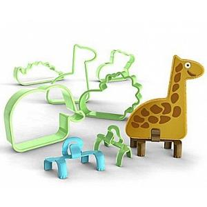 Bakelicious Animal Cookie Cutters with Feet