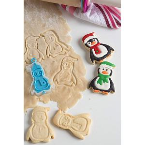 Bakelicious Penguin Flip & Stamp Cookie Cutter