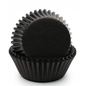 Fox Run Black Baking Cup Set of 50