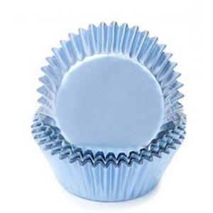 Fox Run Blue Foil Baking Cup Set of 32