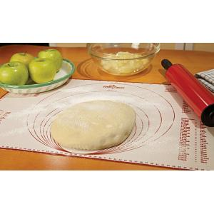 "Fox Run 23.25"" x 15.25"" Silicone Baking Mat with Measurements"