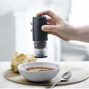 Trudeau Battery Operated One-Hand Pepper Mill