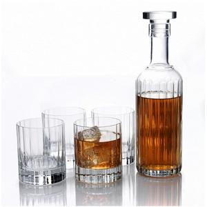 Luigi Bormioli Rocco Bach Crystal Glass Whisky Set of 6