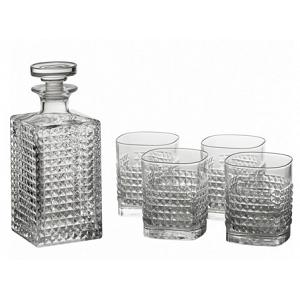 Luigi Bormioli Rocco Elixir Crystal Glass Whisky Set of 6