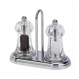 Peugeot Brasserie Salt & Pepper Mill Set with Tray