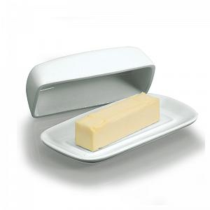 BIA Cordon Bleu Covered Porcelain Butter Dish
