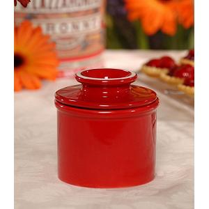Butter Bell Retro Maraschino Red Butter Crock