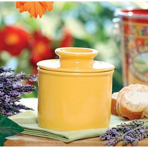 Butter Bell Retro Golden Yellow Butter Crock