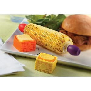 Outset Set of 4 Butter Buddies Corn Butter Spreaders