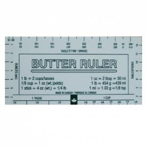 Fox Run Bakers Butter Ruler