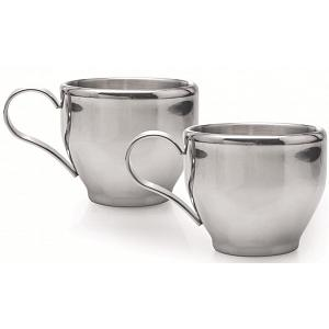 Cafe Culture Set of 2 Double Walled Cappuccino Cups