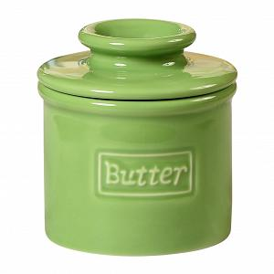 Butter Bell Retro Lime Green Butter Crock