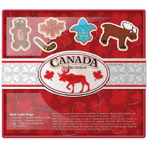 Fox Run Canada Cookie Cutter Set