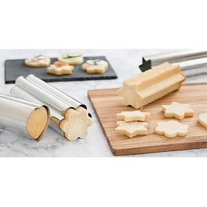 Fox Run Canape Bread Molds Set of 3