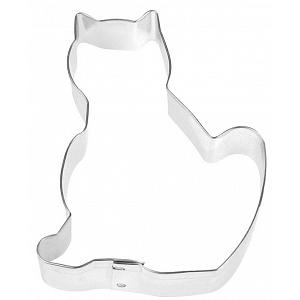 "Fox Run 3"" Cat Cookie Cutter"