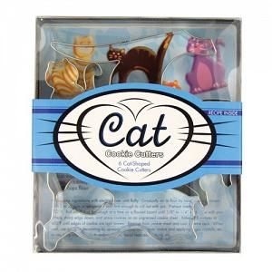 Fox Run Cat Cookie Cutter Set