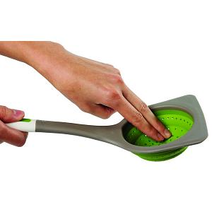 Chef'n FreshForce Collapsible Silicone Strainer / Skimmer