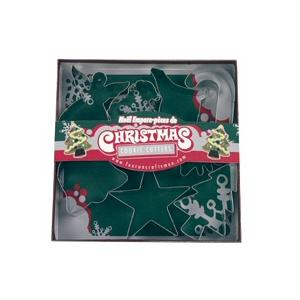 Fox Run 7 Piece Christmas Cookie Cutter Set