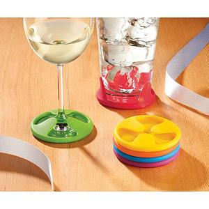 Swissmar Set of 6 Silicone Grip Coaster Set