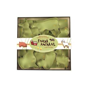 Fox Run Farm Animal Cookie Cutter Set