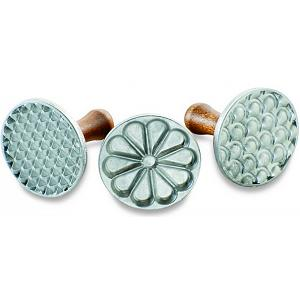 Nordic Ware Set of 3 All Season Cookie Impression Stamps