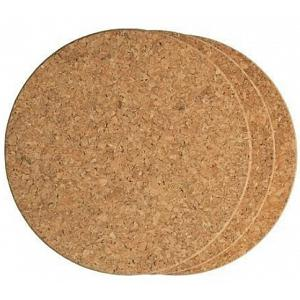 Fox Run Set of 3 Round Cork Trivets