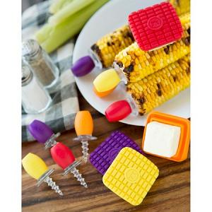 Outset Set of 8 Screw-in Corn Holders