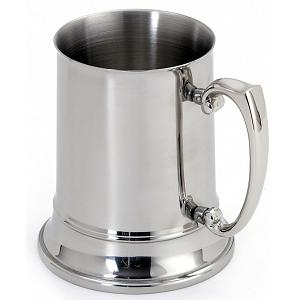 Cuisinox Double Walled Mirror Stainless Steel Beer Stein