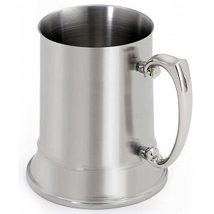 Cuisinox Double Walled Satin Stainless Steel Beer Stein
