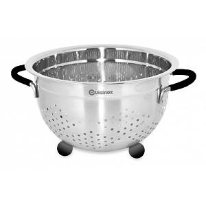 Cuisinox Stainless Steel Colander with Rubber Feet